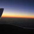 諸島の夕日
